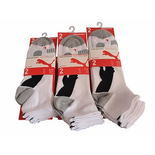 Puma Performance Viertelsocken, 2er Pack, weiß - 221302001-300