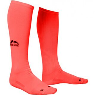 More Mile lange Kompressions-Socken California orange