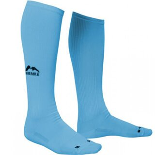 More Mile lange Kompressions-Socken California hellblau 38-42
