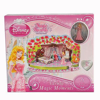 Bullyland 11905 - Spielset - Walt Disney Aurora/Dornröschen - Magic Moments, ca. 19,5 x 11,3 x 11 cm