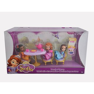 Mattel BJL49 - Disney Princess Sofia - Tee für drei - Tea for three