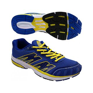 More Mile Laufschuh London Pro Strike blau