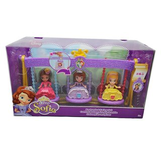 Mattel BDK51 - Disney Princess Sofia - Entzückendes Schaukel-Set - Enchanted Swing-Set
