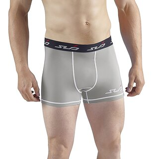 Sub Sports Herren Dual Kompressionsshorts Funktionswäsche Base Layer Boxershorts grau grey