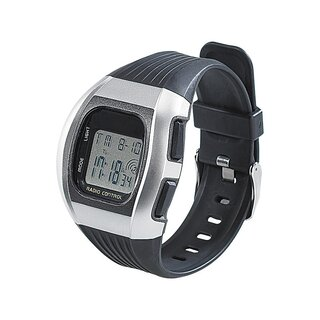 Digitale Unisex-Sport-Funkuhr mit LCD-Display SW-640 dcf