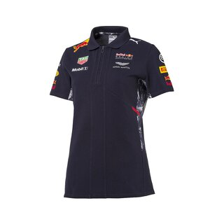Red Bull Rbr FW Womens Team Polo, navy, F1 Red Bull Racing Teamline